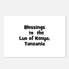 Blessings  to  the  Luo of Ke Postcards (Package o