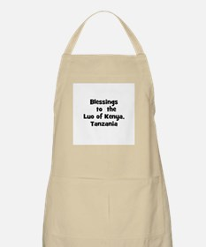 Blessings  to  the  Luo of Ke BBQ Apron