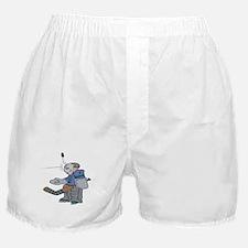 Head Shot Goalie Boxer Shorts