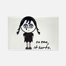 So Emo, It Hurts (Emo Girl) Rectangle Magnet