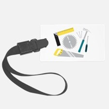 Construction Equipment Luggage Tag