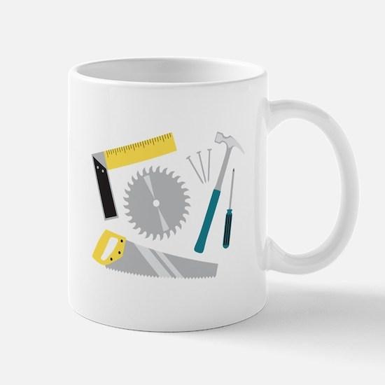 Construction Equipment Mugs