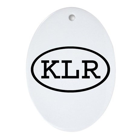 KLR Oval Oval Ornament