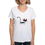 Christmas Jak Women's V-Neck T-Shirt