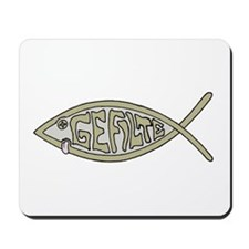 Gefilte fish Mousepad