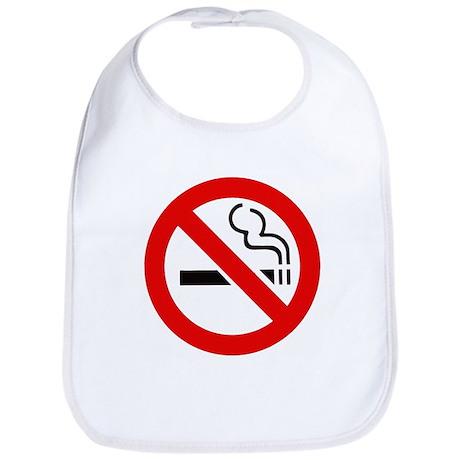 International No Smoking Sign Bib
