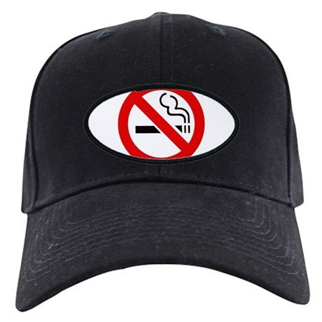 International No Smoking Sign Black Cap