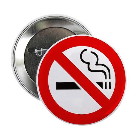 "International No Smoking Sign 2.25"" Button (10 pac"