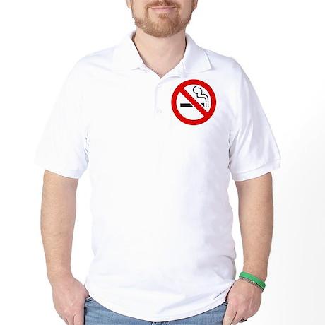 International No Smoking Sign Golf Shirt