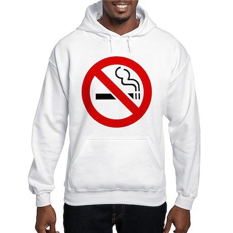 International No Smoking Sign Hooded Sweatshirt