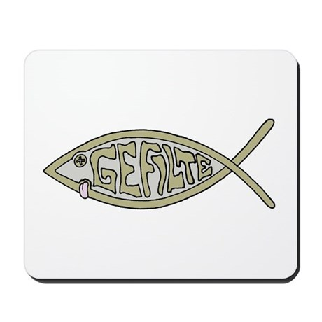 Gefilte fish Mousepad