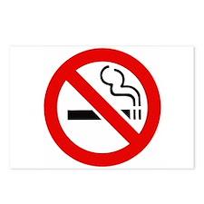 International No Smoking Sign Postcards (Package o