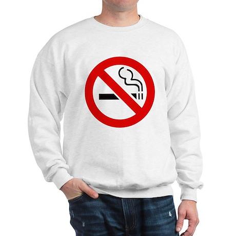 International No Smoking Sign Sweatshirt