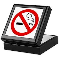 International No Smoking Sign Keepsake Box