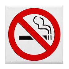 International No Smoking Sign Tile Coaster