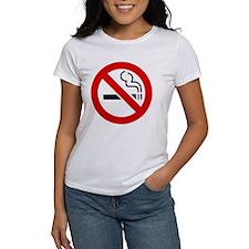 International No Smoking Sign Tee