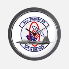 94th Fighter Squadron Wall Clock
