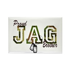 jag brother Rectangle Magnet