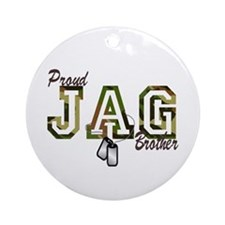 jag brother Ornament (Round)