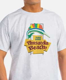 Pensacola Beach Sign, Florida T-Shirt
