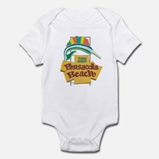 Pensacola Beach Sign, Florida Infant Bodysuit