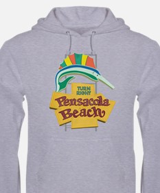 Pensacola Beach Sign, Florida Hoodie Sweatshirt