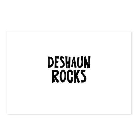 Deshaun Rocks Postcards (Package of 8)