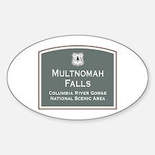 Multnomah Falls, Oregon Decal