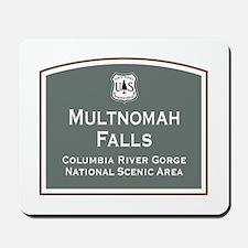 Multnomah Falls, Oregon Mousepad