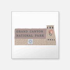 "Grand Canyon National Park, Square Sticker 3"" x 3"""