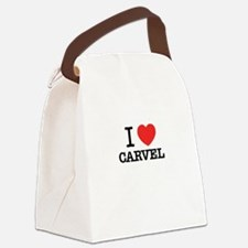 I Love CARVEL Canvas Lunch Bag