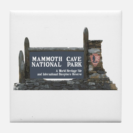 Mammoth Cave National Park, Kentucky Tile Coaster