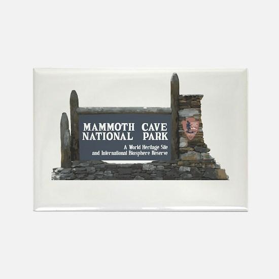 Mammoth Cave National Park, Kentu Rectangle Magnet