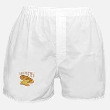 Garlic Bread Boxer Shorts