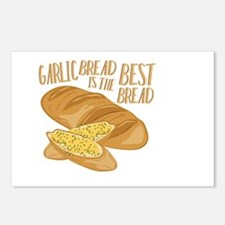 Garlic Bread Postcards (Package of 8)
