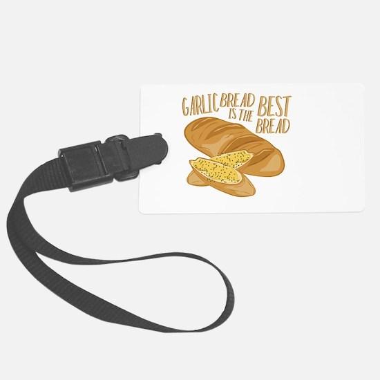 Garlic Bread Luggage Tag