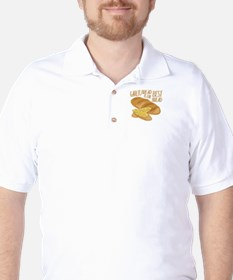 Garlic Bread Golf Shirt