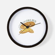 Daily Garlic Bread Wall Clock