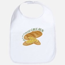 Daily Garlic Bread Bib