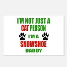 I'm a Snowshoe Daddy Postcards (Package of 8)
