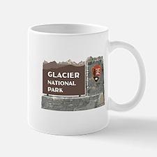 Glacier National Park Sign, Montana Mug