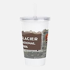Glacier National Park Acrylic Double-wall Tumbler