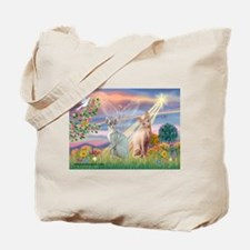 Cloud Angel / Sphynx cat Tote Bag