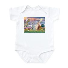 Cloud Angel / Sphynx cat Infant Bodysuit