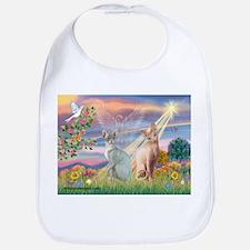 Cloud Angel / Sphynx cat Bib