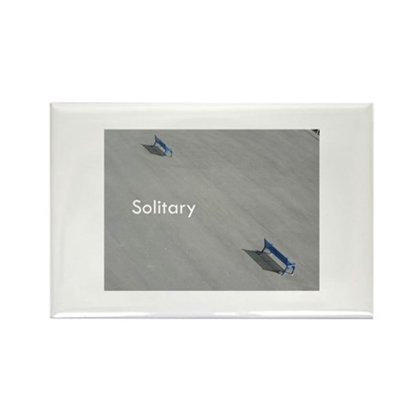 Solitary Rectangle Magnet (10 pack)