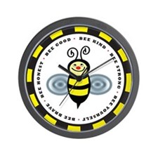 The Bee Line Wall Clock