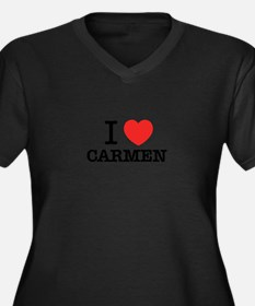 I Love CARMEN Plus Size T-Shirt