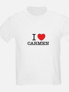 I Love CARMEN T-Shirt