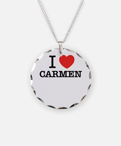 I Love CARMEN Necklace